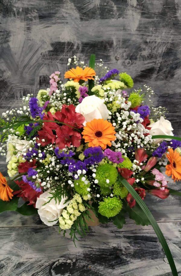 Centre de flors colorit