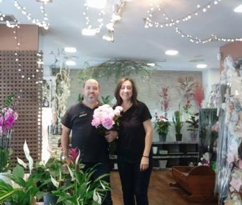 Dan i Núria, floristeria La Planteta
